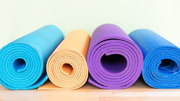 Different Color Yoga Mats