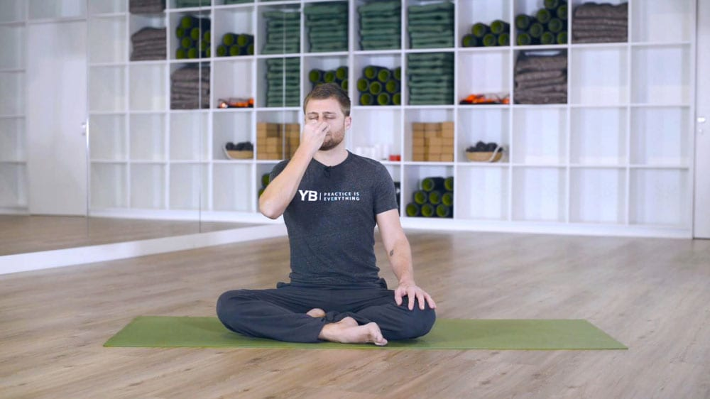First Yoga Class Breathing classes