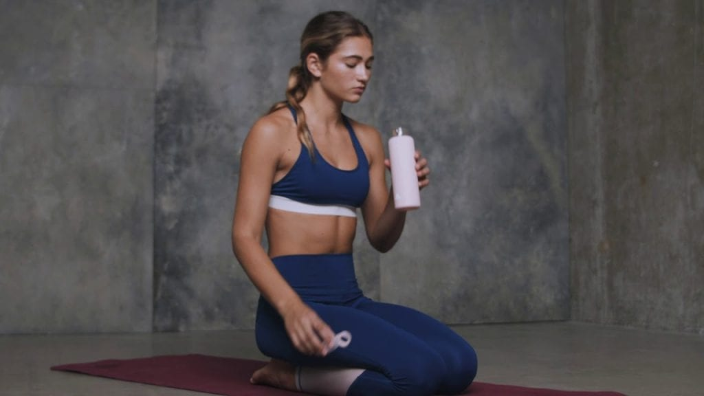 Stay Hydrated while doing Yoga