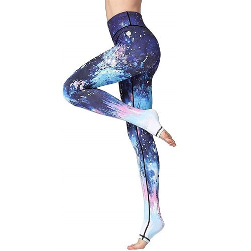Witkey Printed Extra Long Women Yoga Leggings