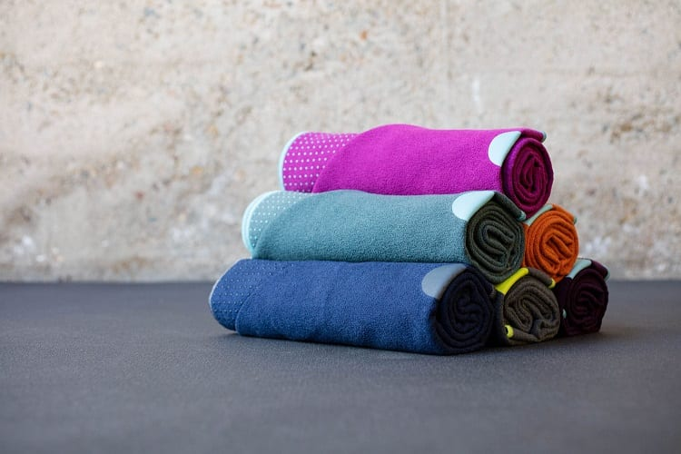 Colorful Yoga Towels
